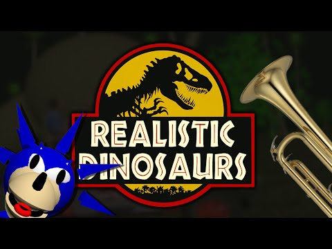 Jurassic Park - Realistic Dinosaurs [Remake, Melodica Cover]