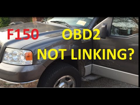 simple ford f150 obd2 not linking repair