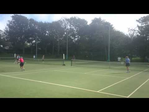 Penzance Tennis Club Vets American Tournament