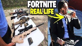 Fortnite im echten Leben ! - Waffen, Tränke & Outfits aus Fortnite in echt (Fortnite Real Life)