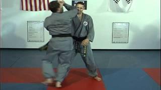Hapkido Rear Bear Hug Grab Below Elbows.avi