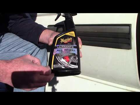 Meguiar's NEW Ultimate All Wheel Cleaner - Amazing On Car Paint!