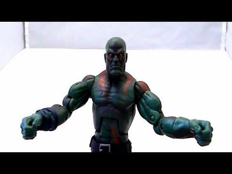 Marvel Legends Drax review (Hasbro) arnim zola wave