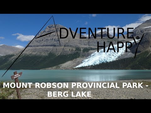 Mount Robson   Berg Lake Backpacking Trip