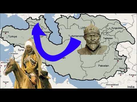 Чеченцы против Тамерлана.  История Чечни и Кавказа.