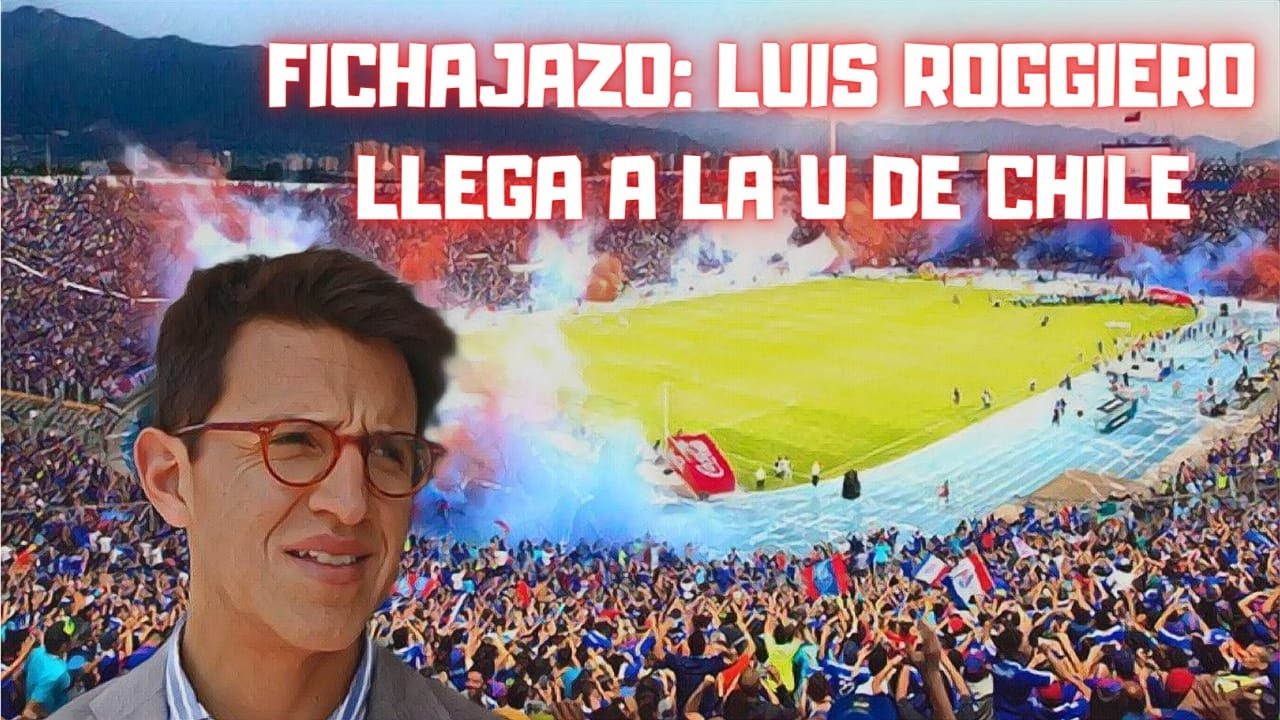 FICHAJAZO: LUIS ROGGIERO LLEGA A LA U DE CHILE - YouTube