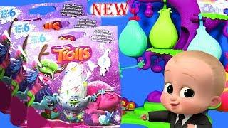 Тролли #Trolls Surprise Видео для детей Boss Baby #Мультики с сюрпризами