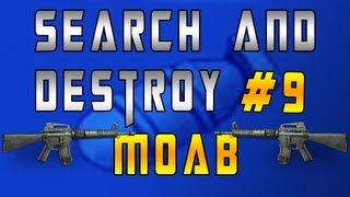 mw3 search destroy m o a b 9 w m16a4