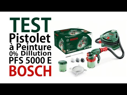 test vid o du pfs 5000e bosch youtube. Black Bedroom Furniture Sets. Home Design Ideas