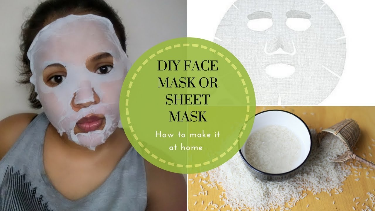 How to make a face mask 52