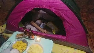 '텐트치고 캠핑! 바기오에서 가능?'