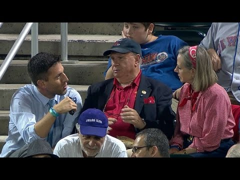 WSH@NYM: 9/11 hero's parents talk with broadcast