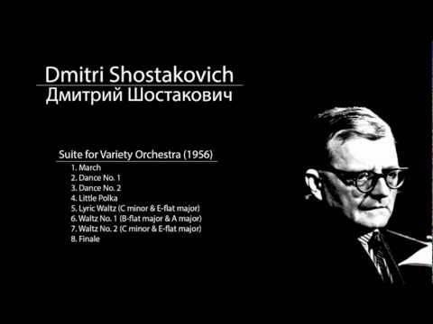 Shostakovich - Suite for Variety Orchestra - 5. Lyric Waltz (C minor & E-flat major)