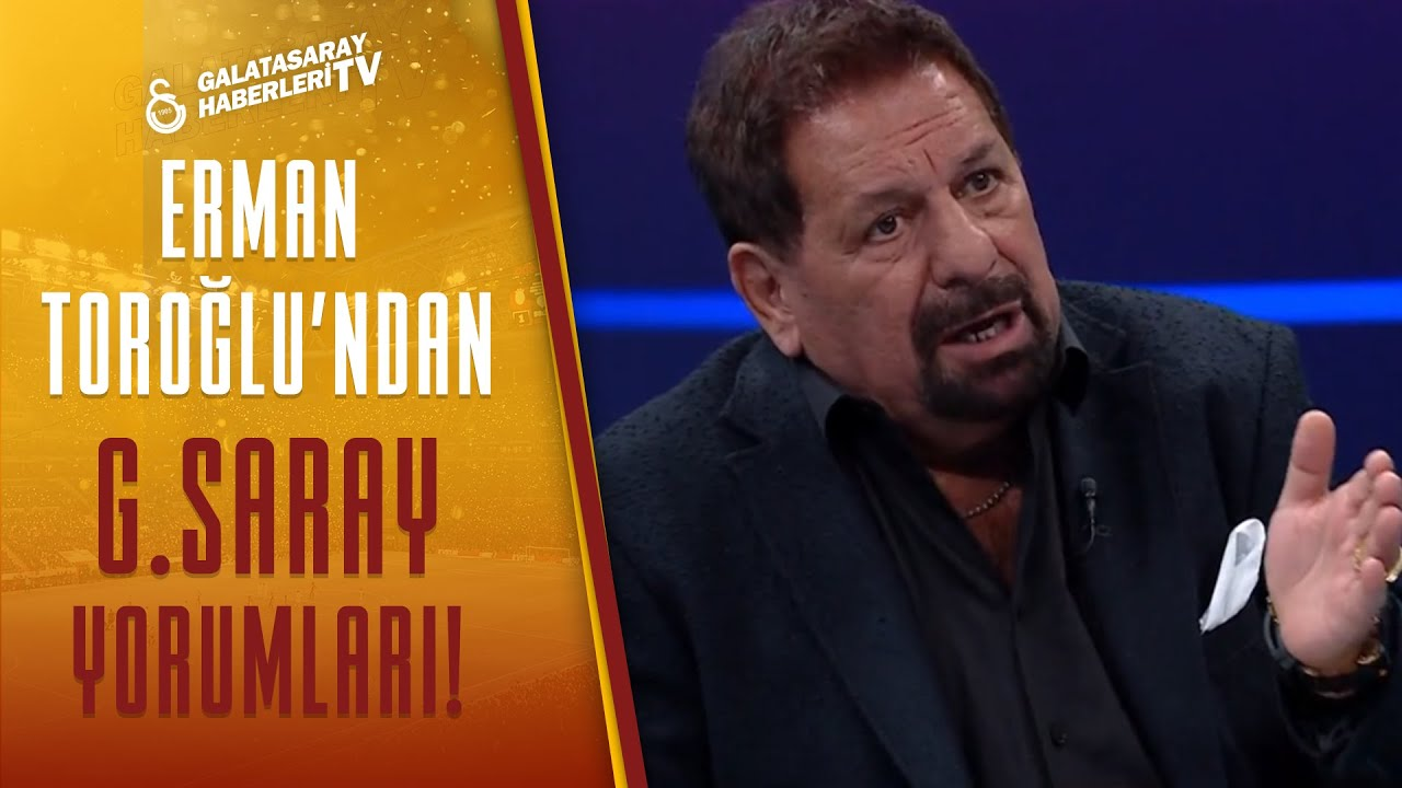 Erman Toroğlu'ndan Galatasaray'ın KRİTİK Galibiyetine Efsane Yorumlar (Galatasaray 1-0 Konyaspor)