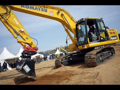 Marokánka 2018: IDig Touch 2D Na Komatsu HB215LC-2 Hybrid