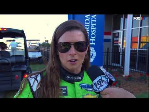 2018 Danica Patrick Final TV Interview Daytona 500