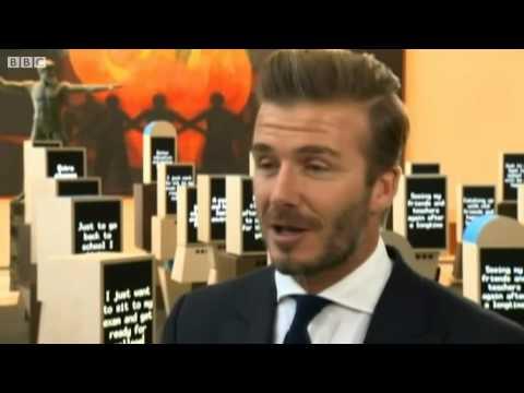 David Beckham  I wasn't world class   BBC News