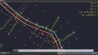 Obtener perfil de terreno y proyecto [CivilCad] [Topografía]