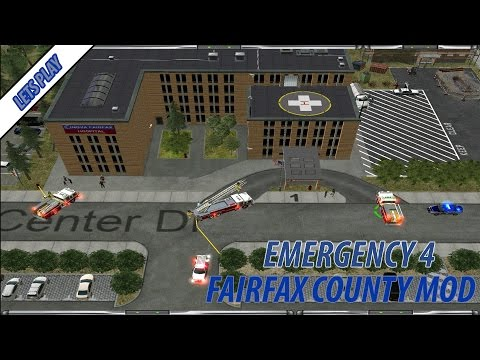 Emergency 4 FairFax County Mod Lets Play (Episode 4) - Runner Amok Creates Havoc
