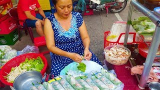 Bất ngờ với Gỏi Cuốn Tôm Thịt chỉ 2,5k rẻ nhất ở Sài Gòn với mắm nêm cực ngon| street food of saigon