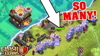 MAX BOWLERS SWARM TOWN HALL 11!! SO MANY BOWLERS! Clash Of Clans Epic Gameplay!