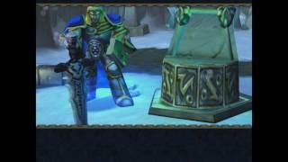 Артас добывает Ледяную Скорбь и убивает Малганиса. WarCraft 3.