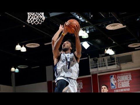 Full Highlights: Washington Wizards vs Memphis Grizzlies, MGM Resorts NBA Summer League | July 8