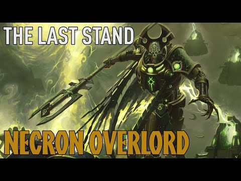 Dawn Of War 2: Retribution - The Last Stand: Necron Overlord