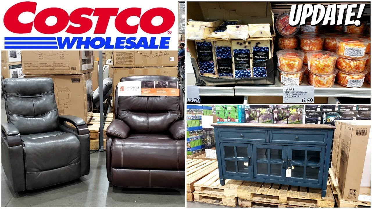 SHOP WITH ME * COSTCO FURNITURE & CHEESE JULY 8