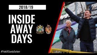 INSIDE AWAY DAYS | Stockport County | 2018/19