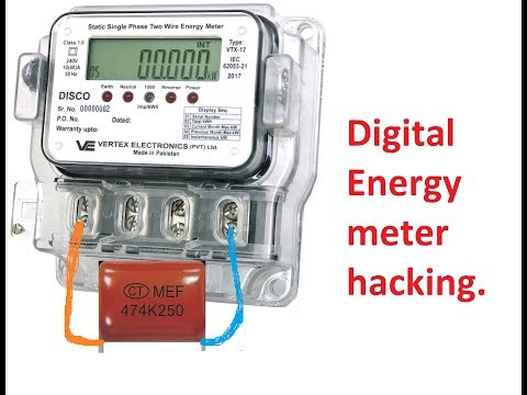 how to slow down digital electric meter  Saver box  slow