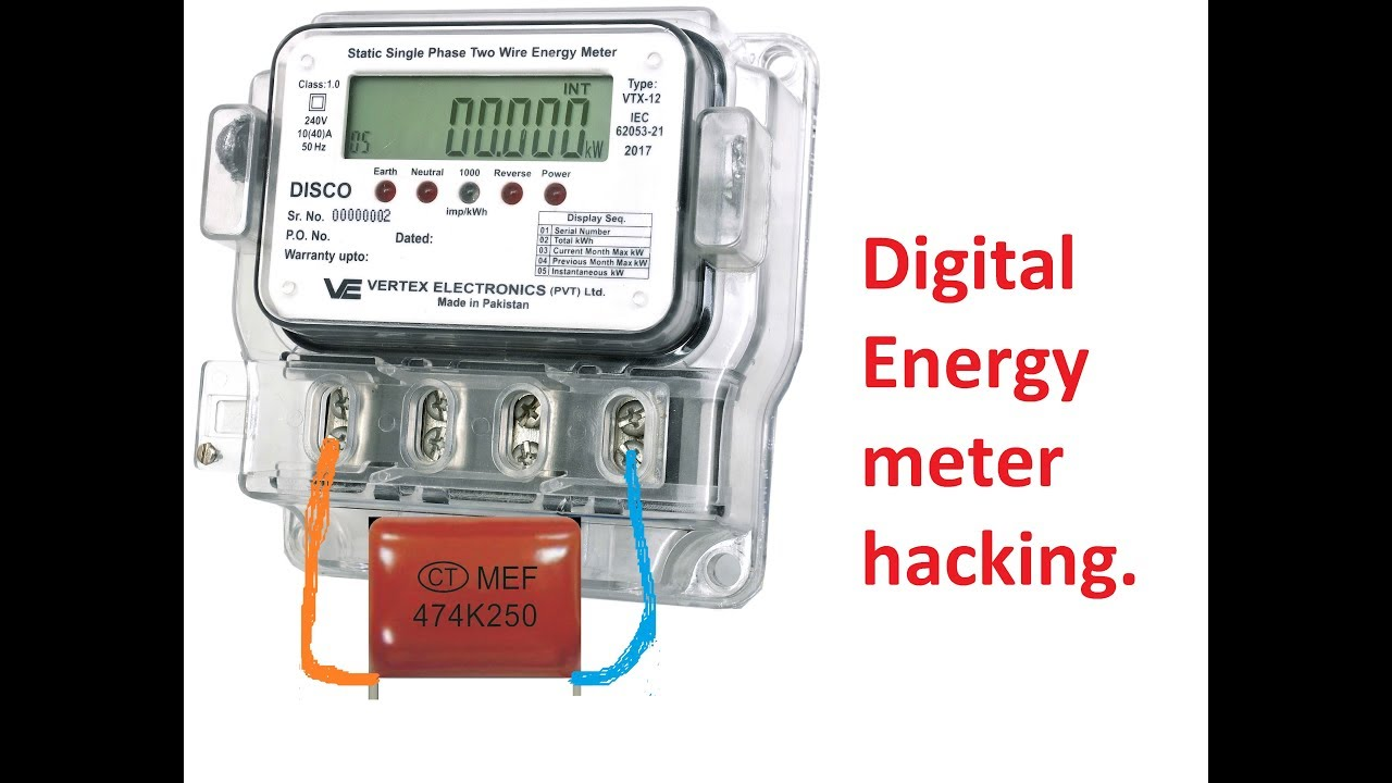 how to slow down digital electric meter  Saver box  slow digital energy  meter