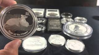 Which is the Best Silver investment? Silver Bullion Silver Coins? It depends