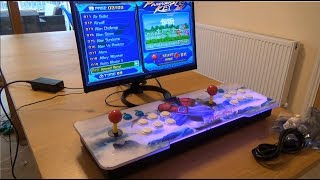 Review of a 999 in 1 Video Games Home Arcade Console Pandora's Key 5S