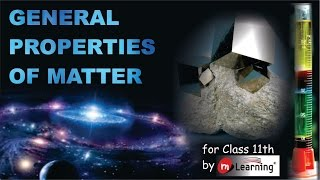 Introduction to General Property of Matter 01/29
