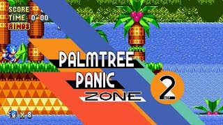 Sonic Mania Sonic CD  Palmtree Panic Zone Completed