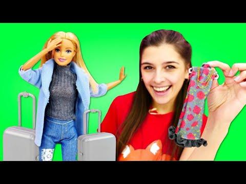 Крутые луки для Барби! Новая одежда для куклы - Одевалки. Ох, уж эти куклы!