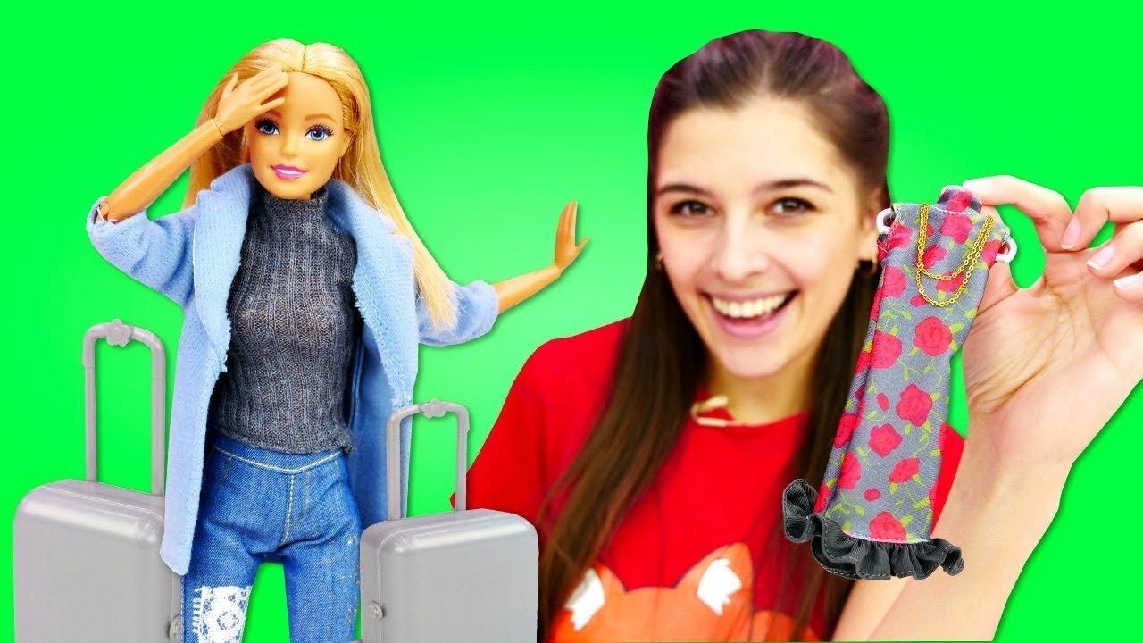 Барби едет на показ мод - Выбираем одежду для куклы. Мультики для девочек