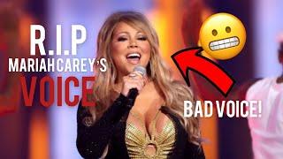 RIP Mariah Carey's Voİce 2021(Shockingly Bad)