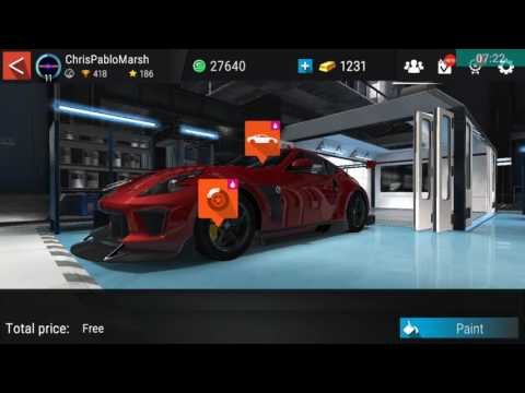 Gear Club: Customizing The Nissan 370z!!!