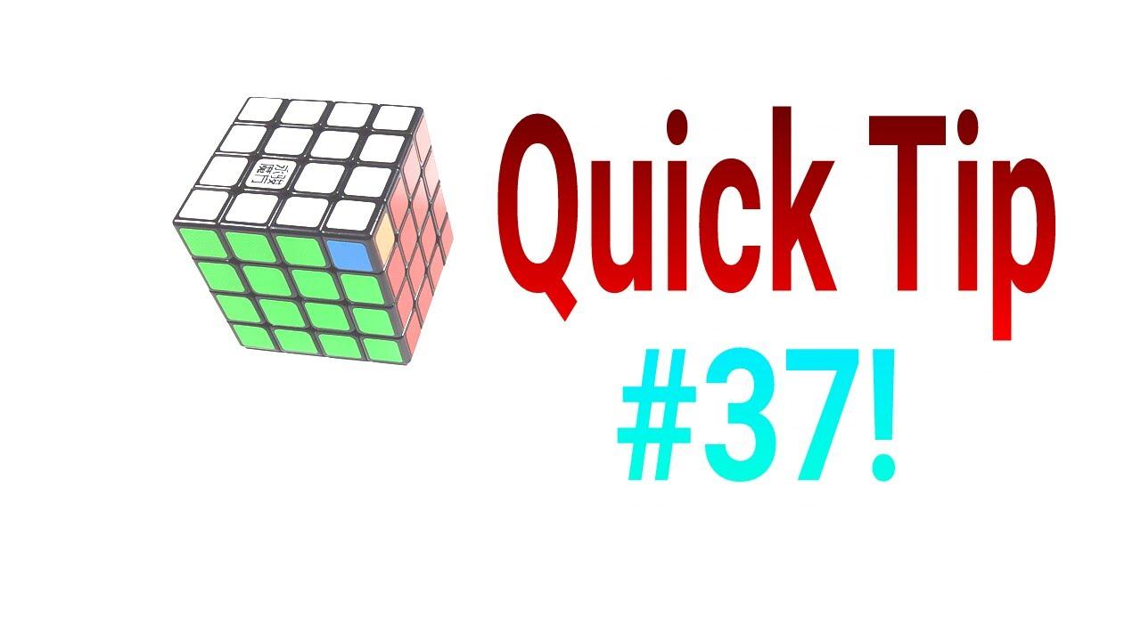 Quick Tip #37- 4x4 PLL Parity / 2 Corner Swap!
