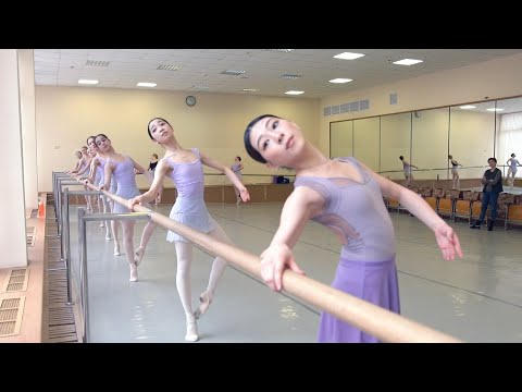 One day with RIO and NENE  Bolshoi Ballet Academy students  mp4