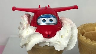 Super Wings Toys with Ice Creams