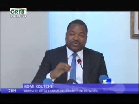 CONFERENCE DE PRESSE DU MCTIC ACTUALITE NATIONAL