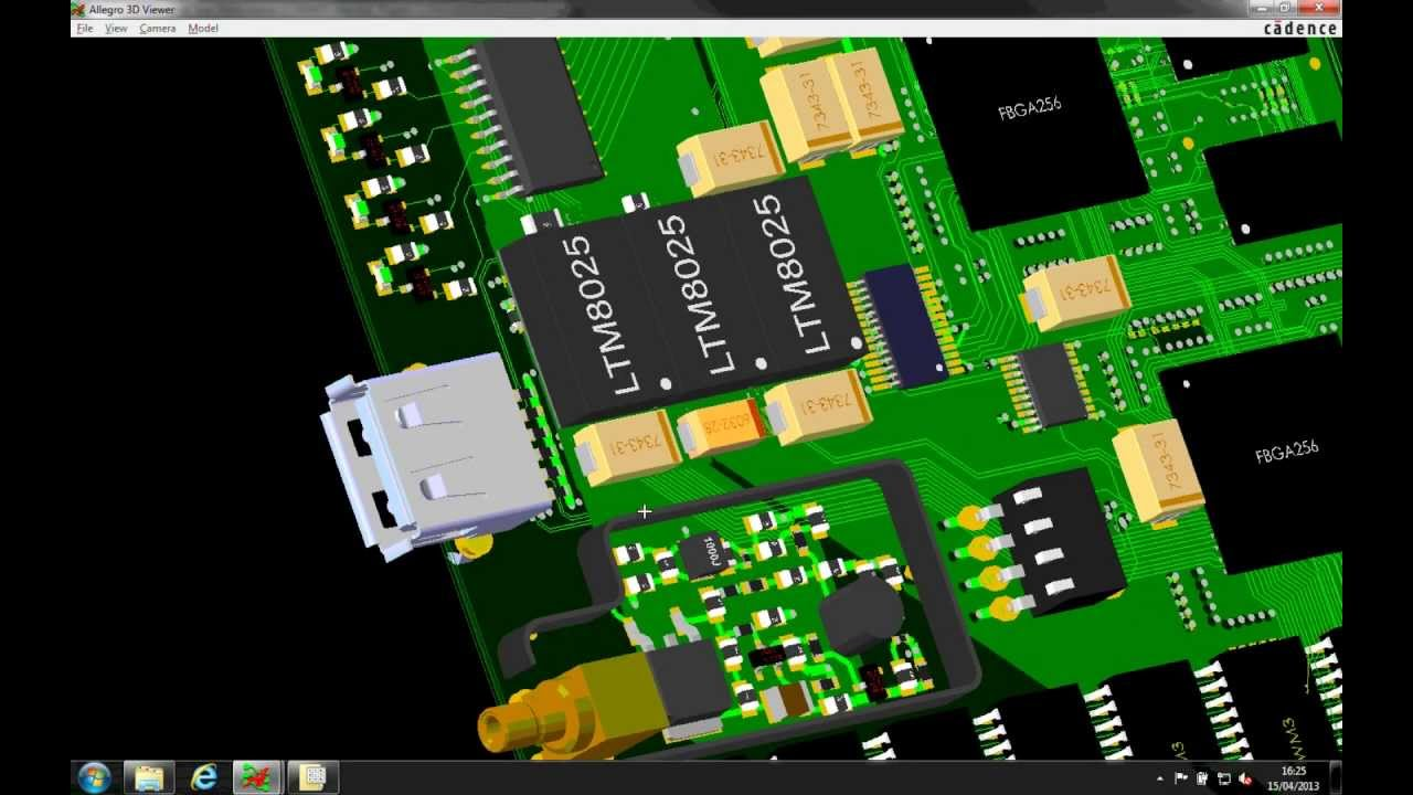 3d Interactive Wallpaper Cadence Pcb Editor Suites 2 Minute Overview Orcad And