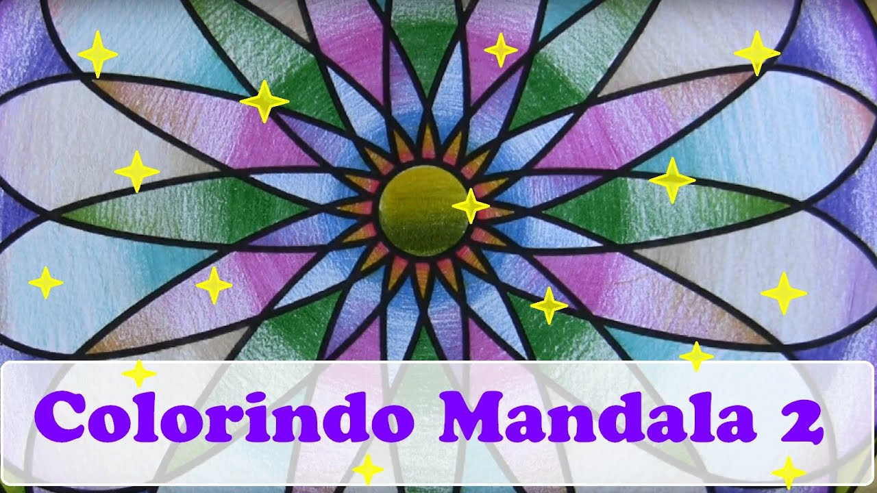 Mandalas Aprendendo A Colorir Sobreposicoes De Cores Parte 2
