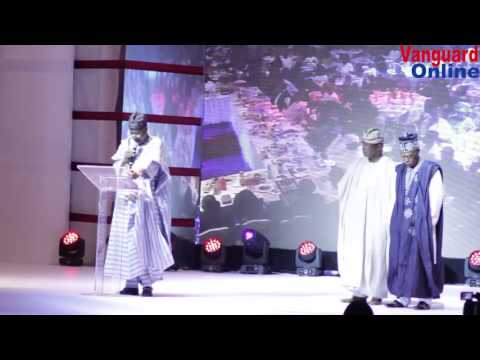 Muhammadu Buhari's speech at Vanguard Awards 2015