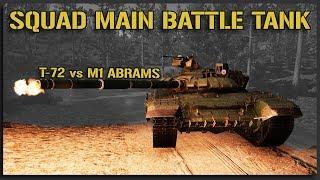 T-72 Main Battle Tank vs M1 ABRAMS - 40v40 Squad v12 Gameplay