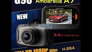 Автомобильный видеорегистратор BlackView G90 с чипом Ambarella A7LA50