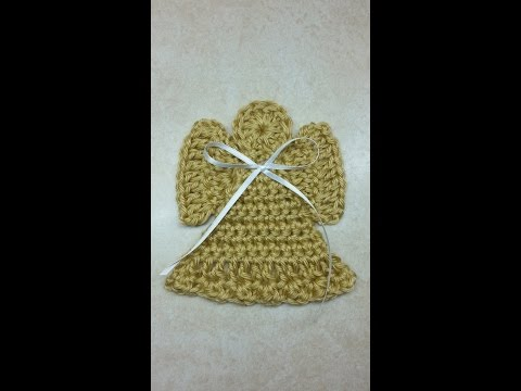 CROCHET How to #Crochet Angel #TUTORIAL CLosed Captioning Crochet Tutorial #165 LEARN CROCHET